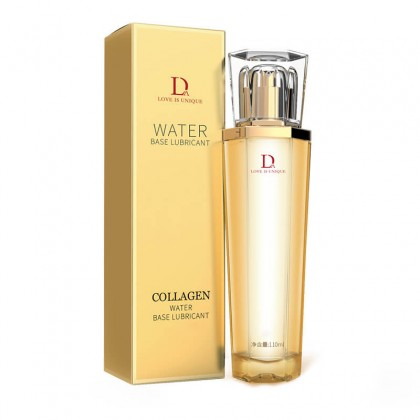 DUAI - Golden Collagen Water-Based Lubricant 110ml Original Water Based Vagina Lubricant Gel Sex Oral Body Massage Oil Masturbation Lubricant For Couples Oil Minyak Pelincir