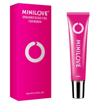 MINI LOVE - Orgasmic Silkily Gel For Women 10ML Orgasm Gel Sexual Desire Enhancer Sex Vagina Natural Herbal Stimulant Intense Sex Drop Exciter Women Strong Enhance Climax Vaginal Tight Oil Untuk Sek Perempuan
