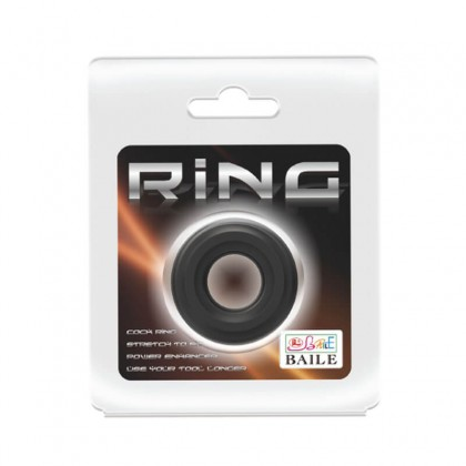 BAILE - Male Erection Silicone Penis Ring Male Delay Rings Ejaculation CockRing Penis Massager Dildo Adult Toy For Men Alat Seks Lelaki (Semburan Tahan Lama)