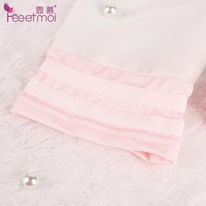 FEE ET MOI Innocent Sweet Student Costume White Sexy Lace Sexy Lingerie Charming Nightdress Babydoll Nightwear Sexy Sleepwear Free Size For Women Transparent Dress Elasticity